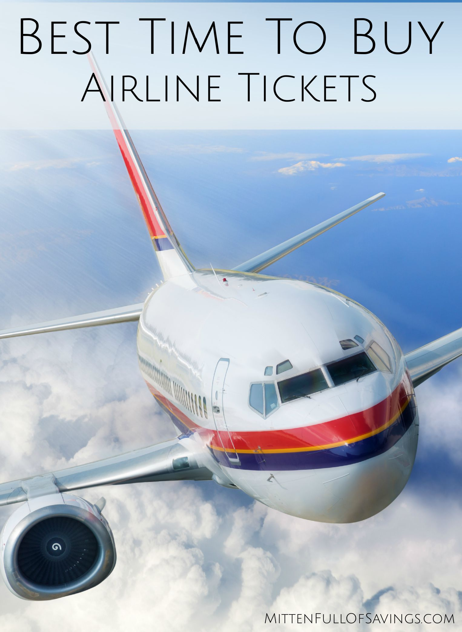 best time buy airline tickets