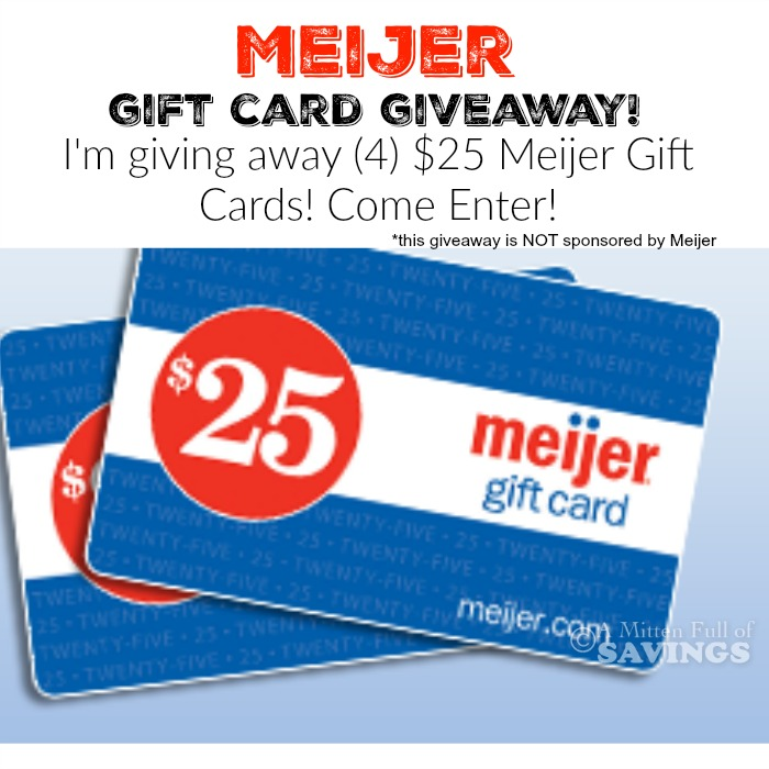 Meijer Gift Car... $25 Gift Card