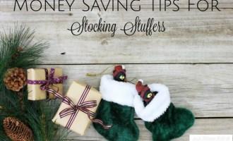 Money Saving Tips For Stocking Stuffers