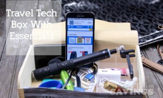 Create A Travel Tech Box With Essentials