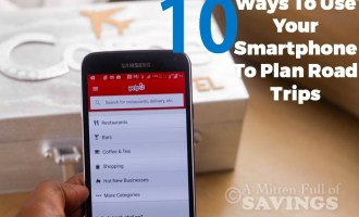 10 Ways To Use Your Smartphone To Plan Road Trips