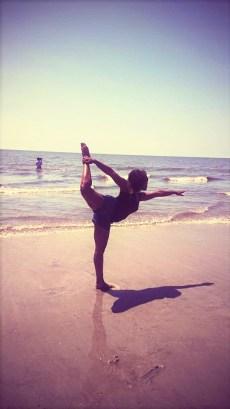hilton head dancer pose