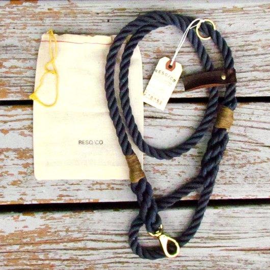 RESQCO Rope Dog Leashes via Ammo the Dachshund