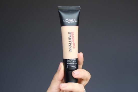 l'oreal infallible matte foundation review