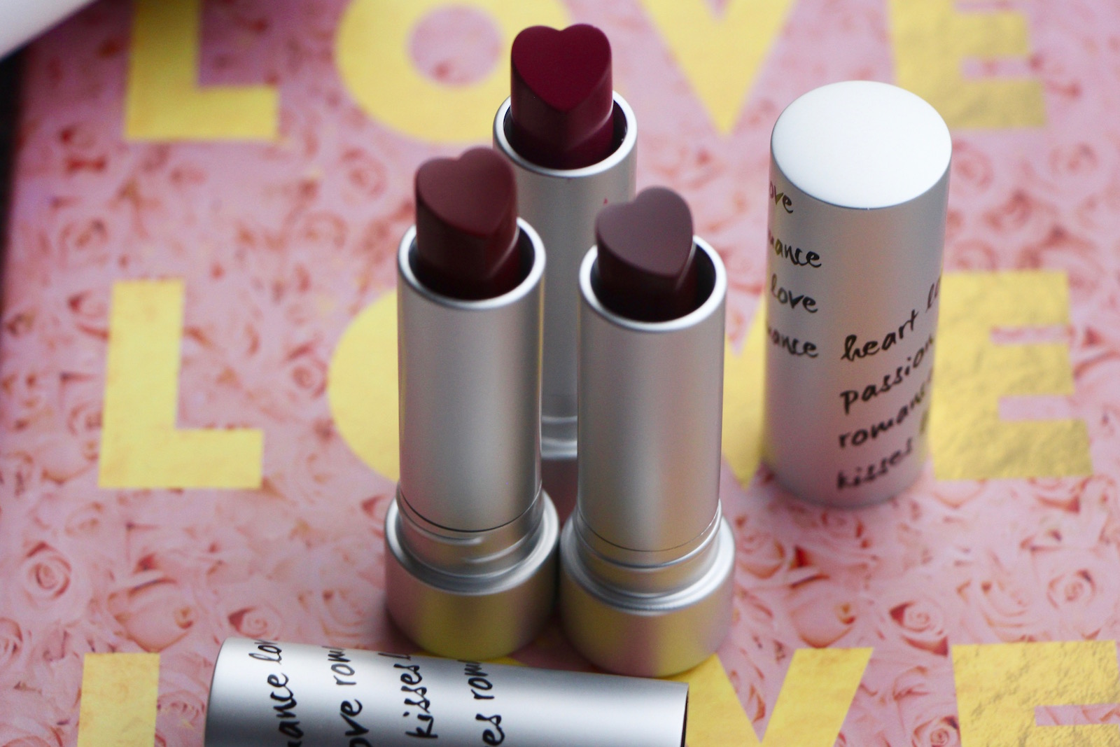 kiko heart lipsticks