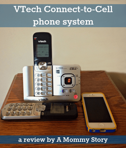 Review The Vtech Connect To Cell Phone System A Mommy Story
