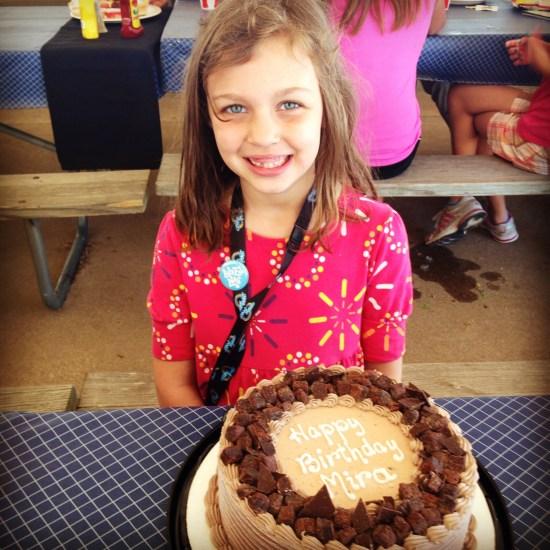Mira's ice cream cake