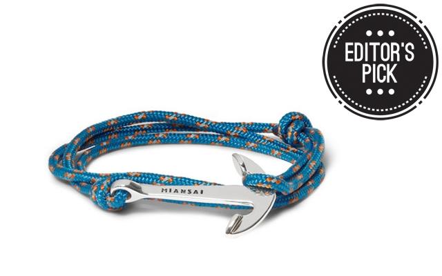 Editor39s Pick Miansai Rope And Anchor Bracelet Amongmen