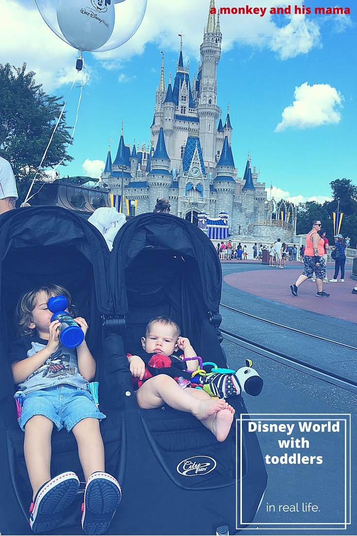 disney world with toddlers, real life // a monkey and his mama