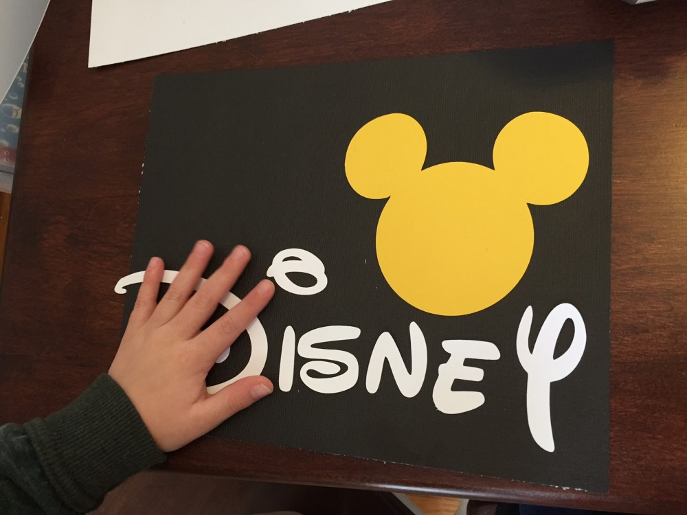 toddler approved disney world countdown DIY // a monkey and his mama