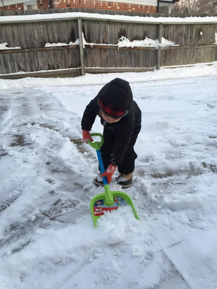 mama & toddler on the go essentials for a michigan winter // a monkey and his mama
