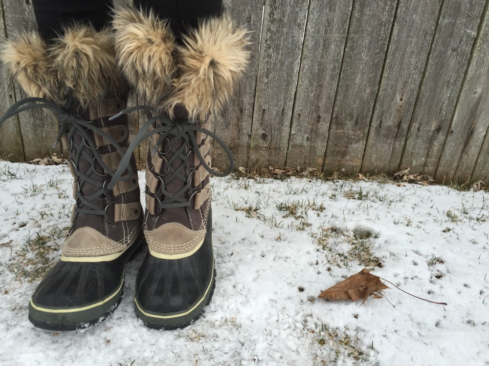 on the go essentials for a michigan winter // a monkey and his mama
