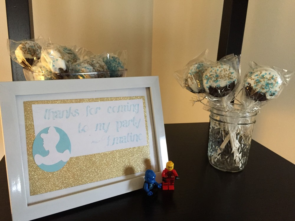 cinderella party favors // a monkey and his mama