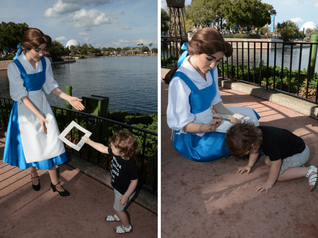 A fun way to collect and display autographs in Disney World