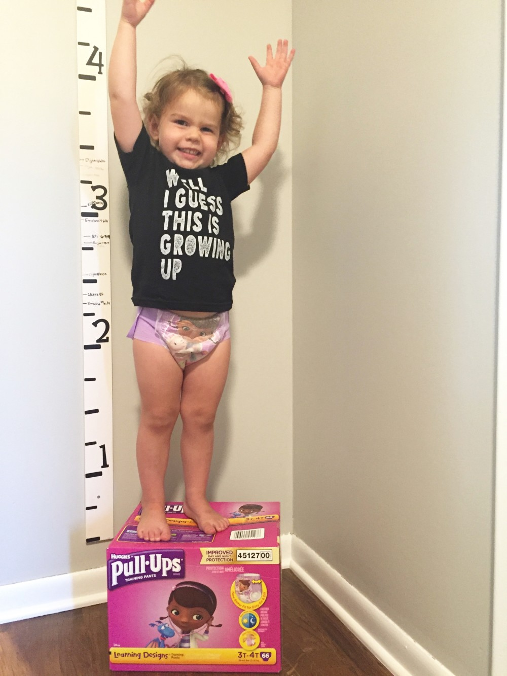 potty training progress {with pull-ups} // a monkey and his mama