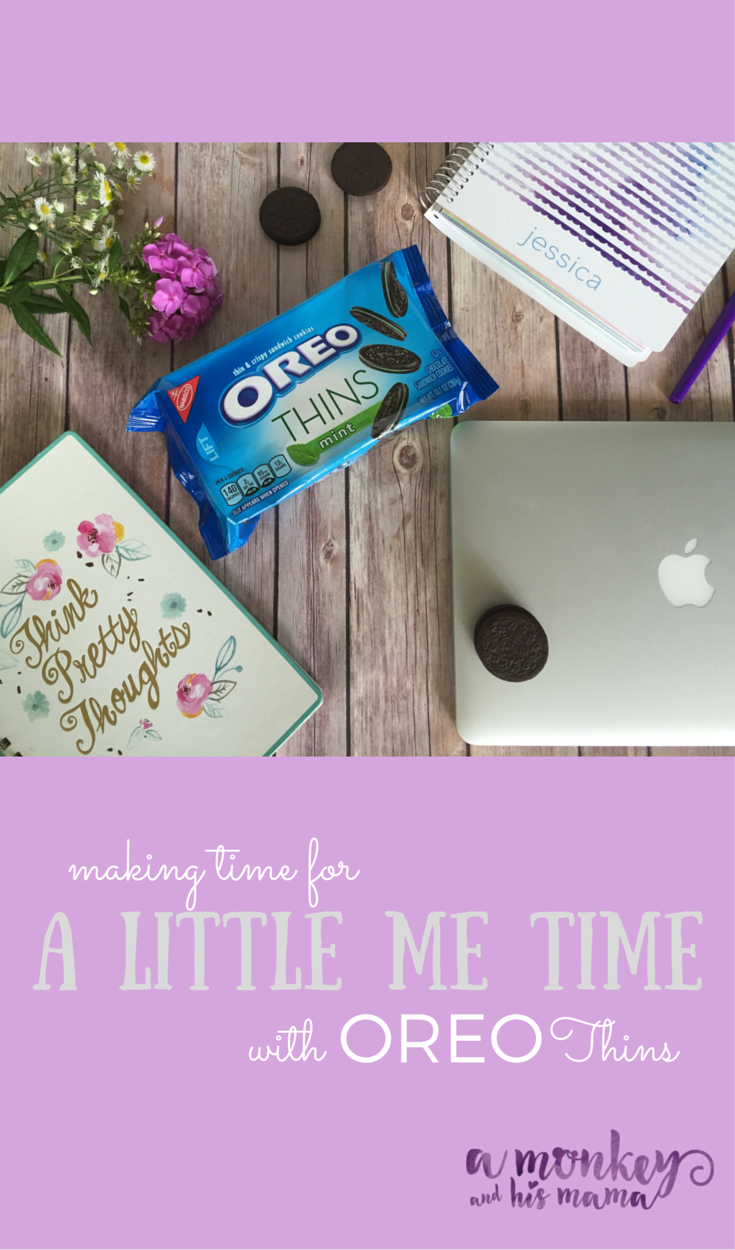 a little me time {with OREO Thins} || a monkey and his mama-2