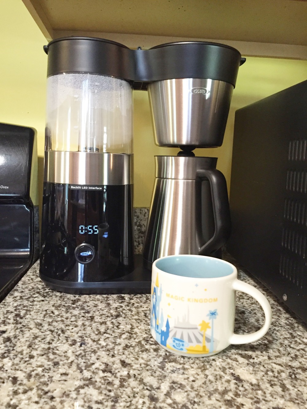 OXO On Barista Brain 9 Cup Coffee Maker \\ a monkey and his mama