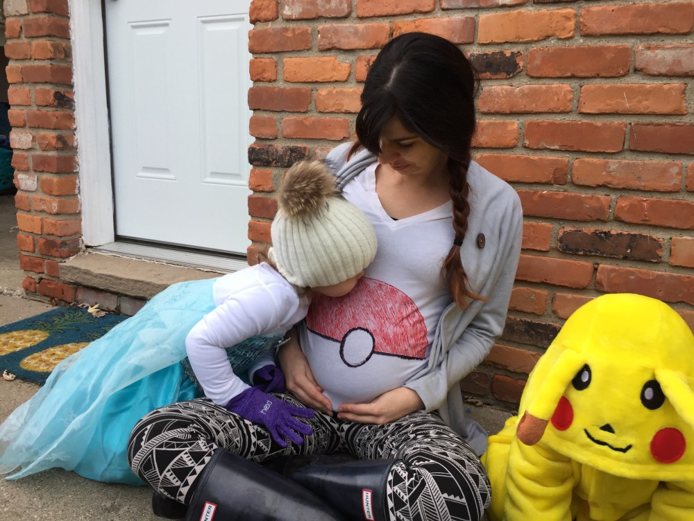 family pokemon costume idea // a monkey and his mama