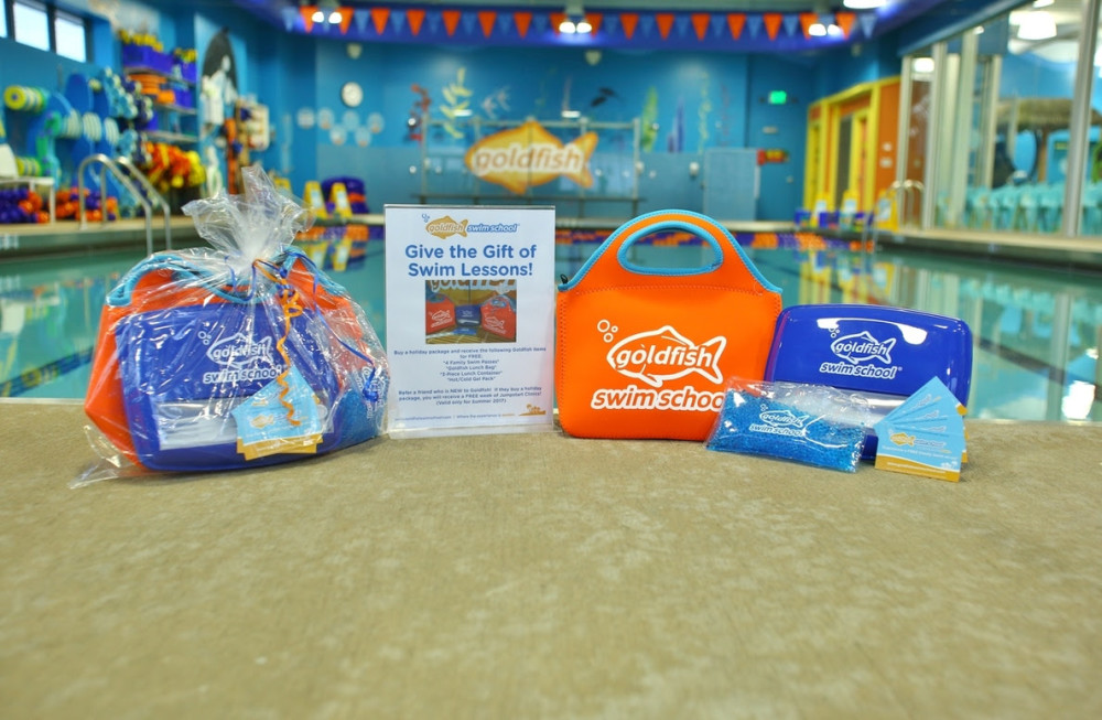 goldfish swim school detroit giveaway // a monkey and his mama