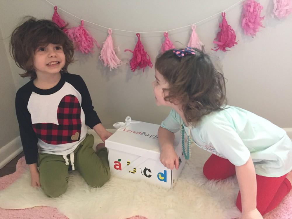 valentine's gift for baby sister // incredibundles