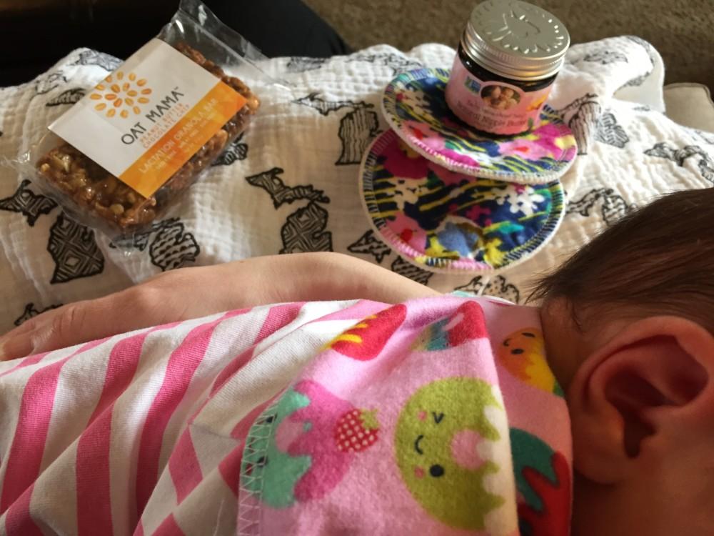 essentials for breastfeeding a newborn