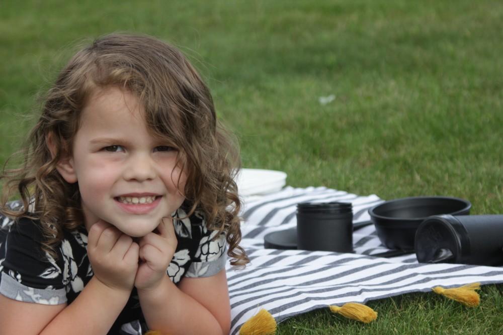 monochrome picnic