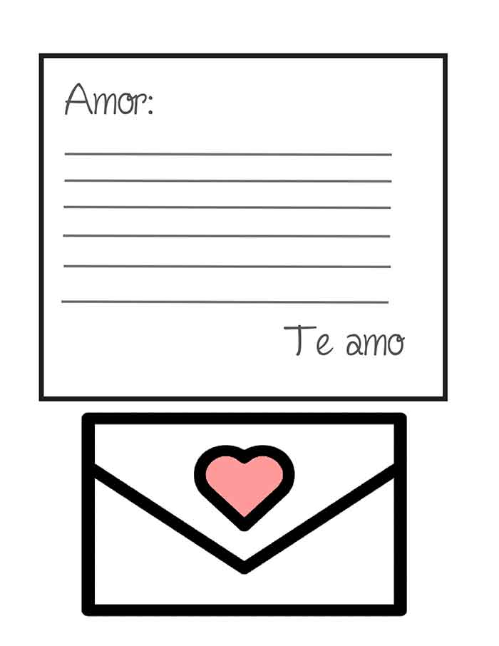 ▷ Plantillas de Cartas de Amor para Descargar Gratis - Modelo Word