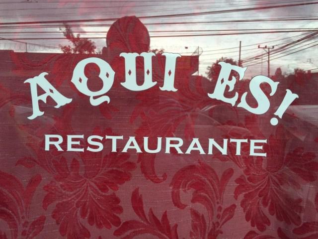 Restaurante Aqui Es San Jose