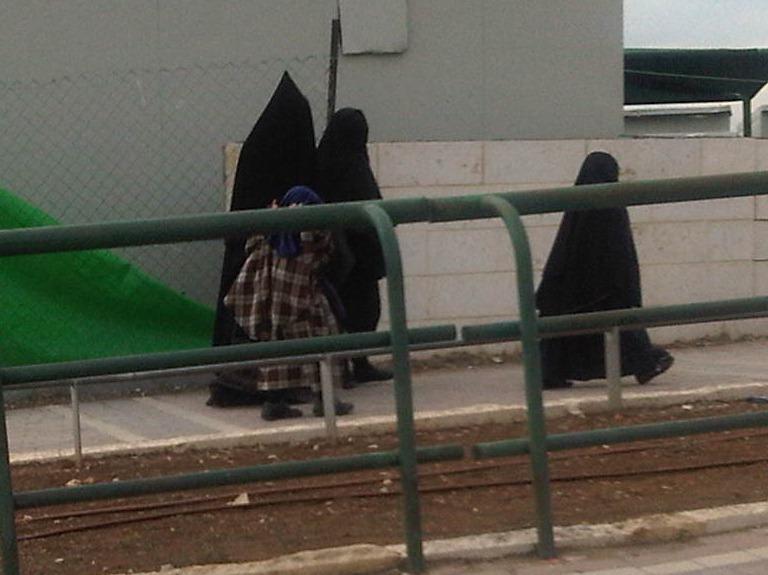 Beit Shemesh Women Street in Beit Shemesh