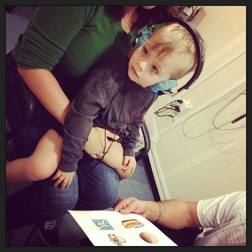 children's hearing test