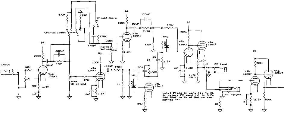 soldano amp circuit