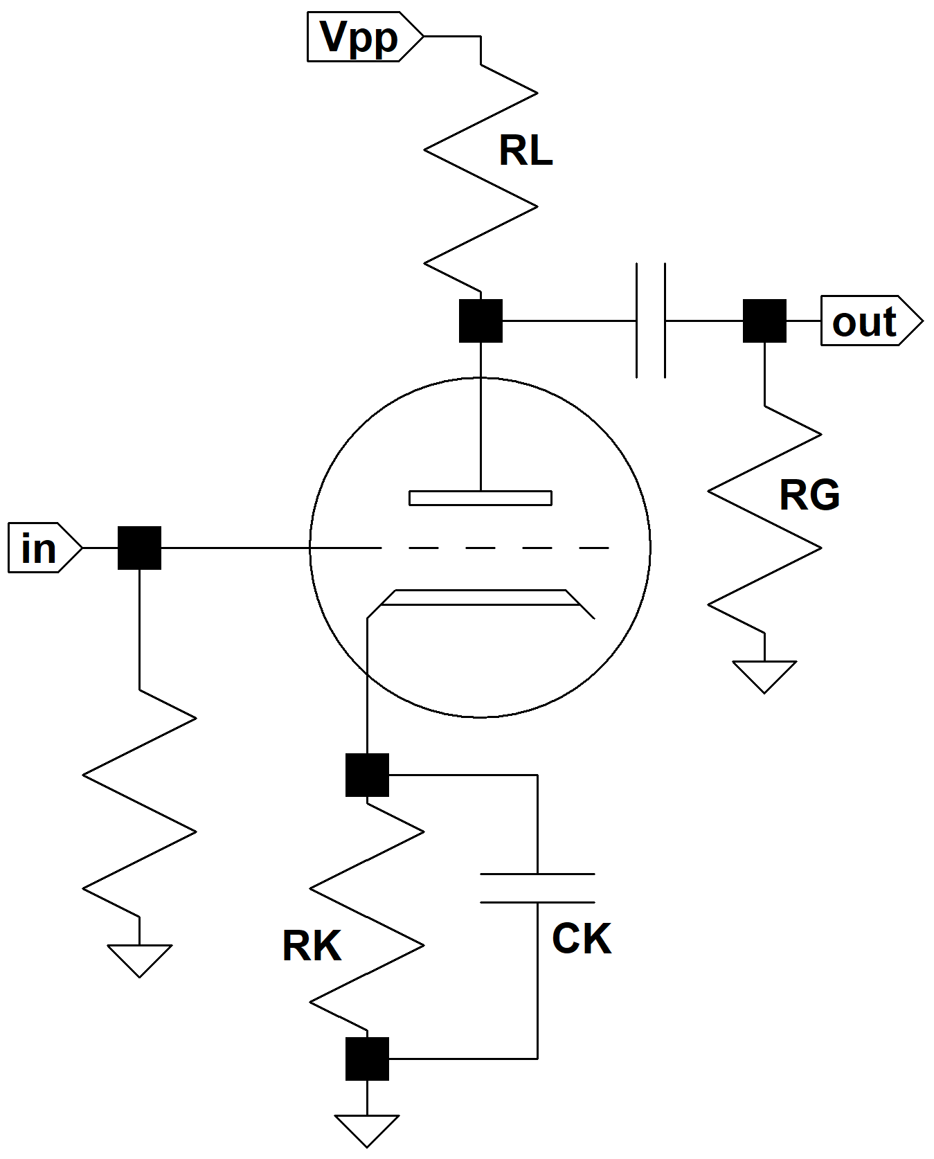 basic capacitor circuit