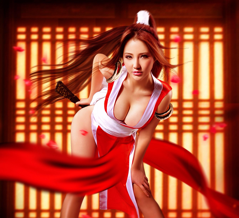 Natsu 3d Wallpapers Oh Mai 25 Most Cleavage Revealing Mai Shiranui Cosplays