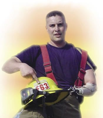 Occupational Therapist and Prosthetist Help Firefighter Return to