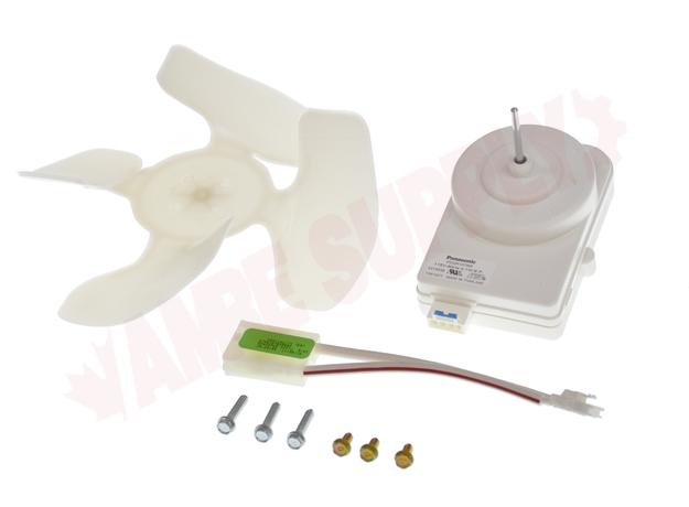 W10124096  Whirlpool Refrigerator Condenser Fan Motor Kit, 41W