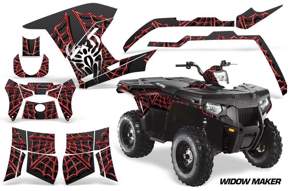 Polaris Sportsman 800/500 ATV Quad Graphic Kit 2011-2015