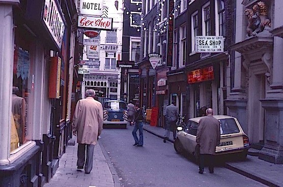 Amsterdam's Red Light District History.