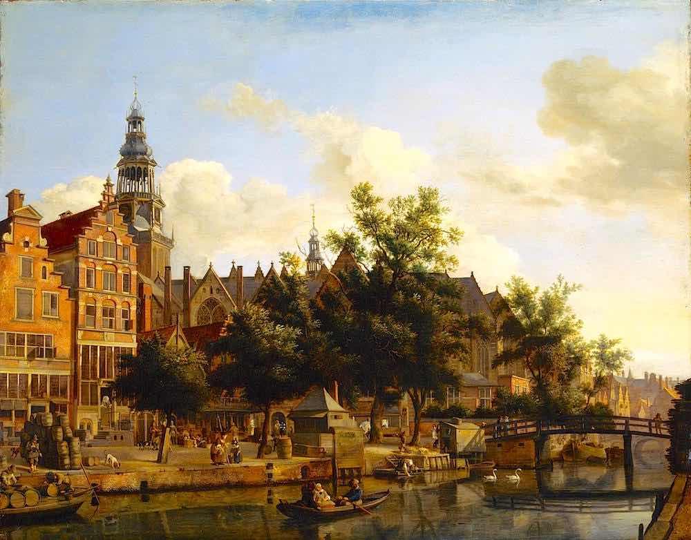 Amsterdam Red Light District History: De Wallen - Oudezijds Voorburgwal 1670