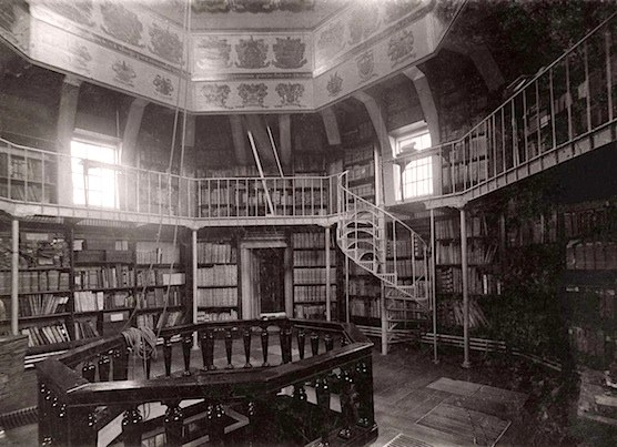 This is how the inside of The Waag in Amsterdam looked like in 1911. The Netherlands.