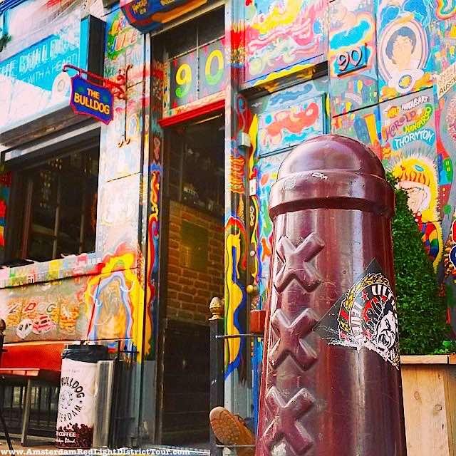 Amsterdam Dildo Small - Amsterdammertje Coffeeshop Bulldog