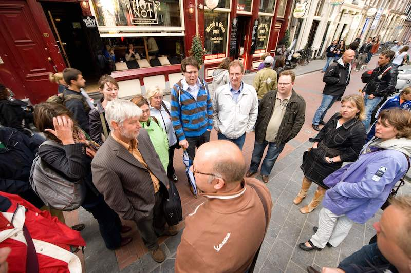 Amsterdam Red Light District Police Tour Former Cop