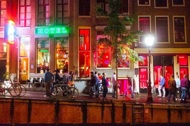 Interview Window Amsterdam Holland RLD