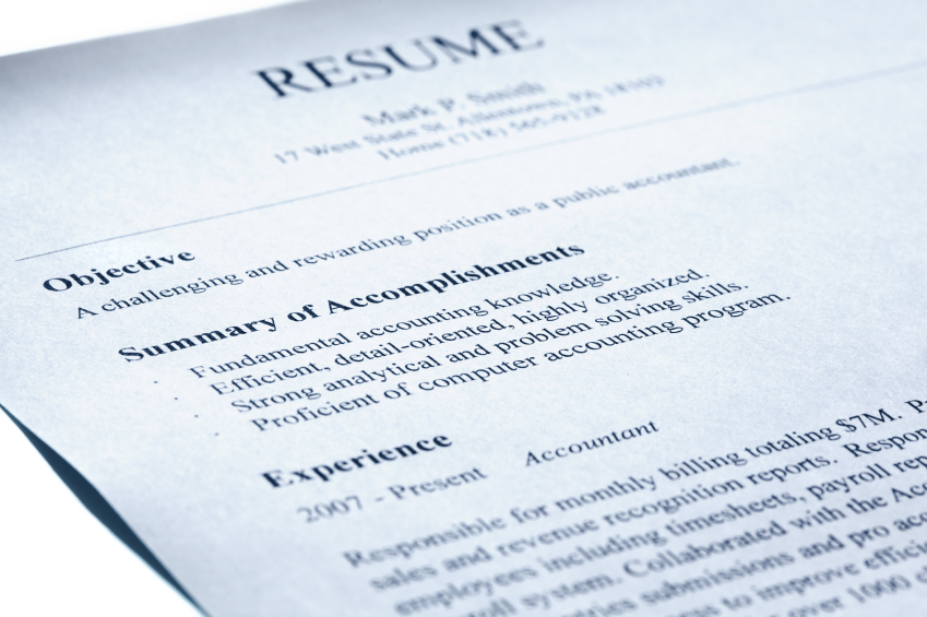 Resume Basics - Amtec