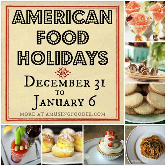 national food holidays, january food holidays, december food holidays, american food holidays