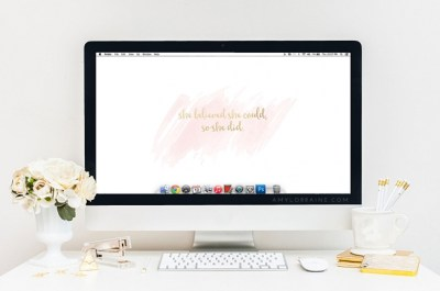 Free Wallpaper Download | She believed she could, so she did. - Amy Lorraine Photography ...
