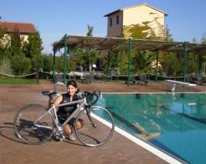 My trusty Specialized road bike has taken me on many adventures.