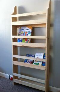 Ana White | Flat Wall Book Shelves - DIY Projects