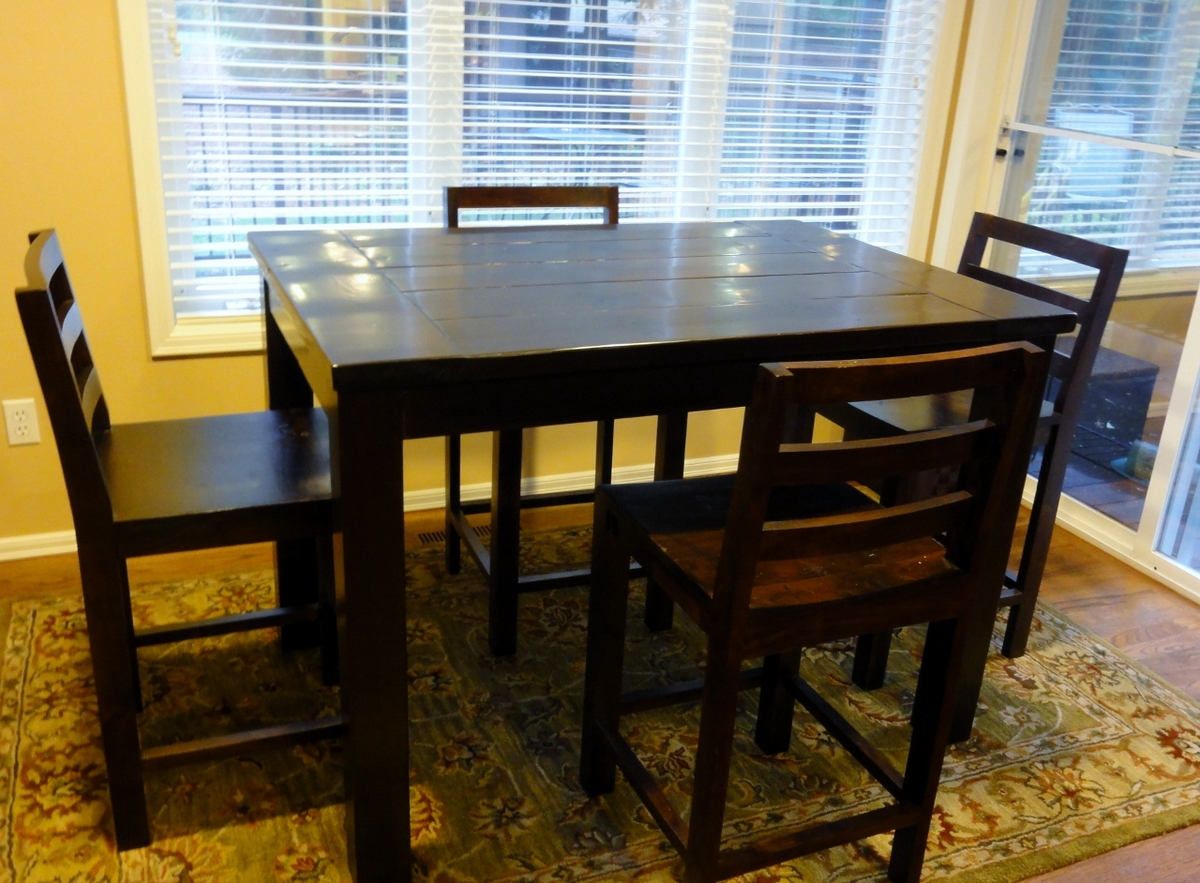 tryde counter height kitchen table counter height kitchen tables Tryde Counter height Kitchen Table