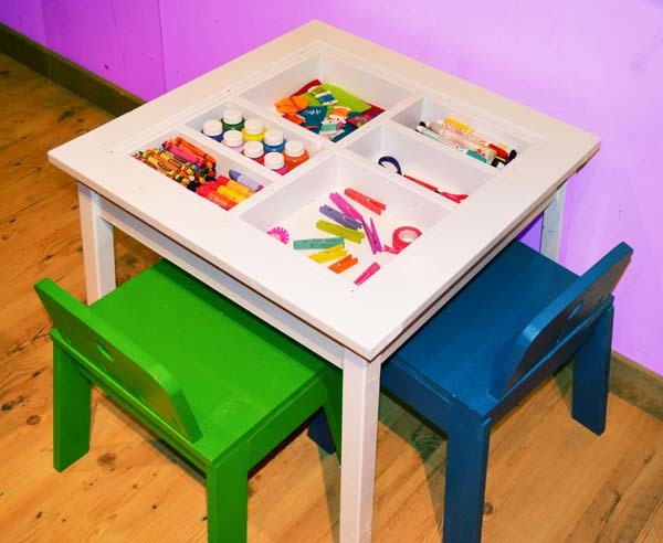 Ana White Arts And Crafts Play Table Diy Projects