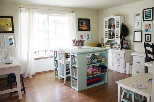 Medium Of Craft Room Furniture